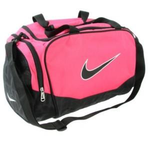 Sportovní taška Nike Brasilia 2011 malá růžová