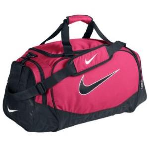 Sportovní taška Nike Brasilia 2011 střední růžová