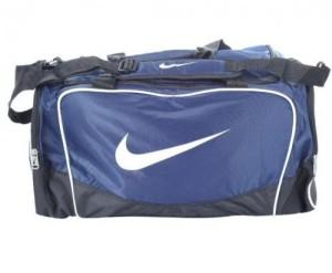 Sportovní taška Nike Brasilia světle modrá střední