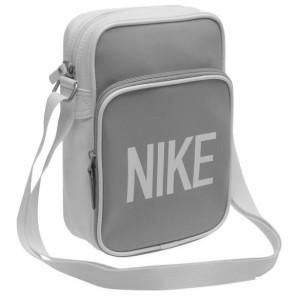 Taštička přes rameno Nike Heritage 72 bílošedá