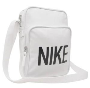 Taštička přes rameno Nike Heritage 64 bílá