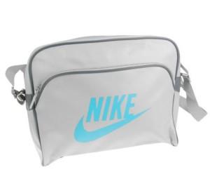 Taška Nike Heritage 6 přes rameno šedá