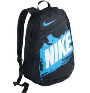 Batoh Nike Class Turf B černý s modrou