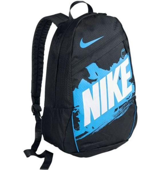Batoh Nike Class Turf B černý s modrou 6d0de9748e